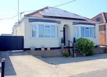 Thumbnail 2 bed detached bungalow for sale in Roman Bank, Leverington, Wisbech, Cambridgeshire