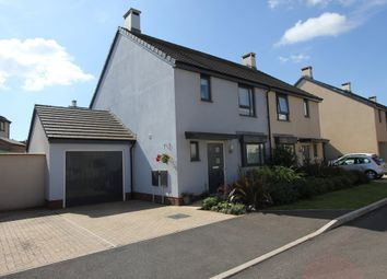 Thumbnail 3 bedroom semi-detached house for sale in White Rock Close, Paignton