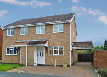 Thumbnail 3 bed semi-detached house to rent in Pollard Way, Ravenstone, Coalville