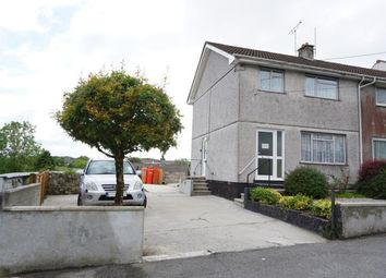 Thumbnail 3 bed semi-detached house for sale in Nanpean, St Austell, Cornwall