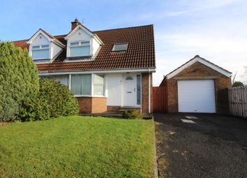 Thumbnail 3 bed semi-detached house to rent in Hillview Crescent, Carrickfergus