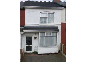 Thumbnail 3 bed terraced house to rent in Foley Road, Ward End, Birmingham