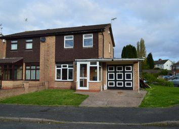 Thumbnail 3 bed semi-detached house for sale in Stubbington Close, Willenhall