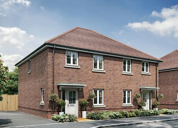 "Thumbnail 3 bed semi-detached house for sale in ""The Ashwood"" at New Barn Lane, North Bersted, Bognor Regis"