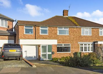 Thumbnail 4 bed semi-detached house for sale in South View Close, Bexley