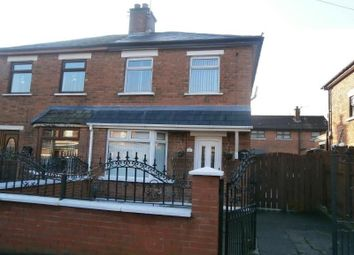 Thumbnail 3 bedroom semi-detached house to rent in Andersonstown Park, Belfast