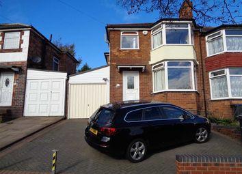 Thumbnail 3 bed semi-detached house for sale in Ermington Crescent, Hodge Hill, Birmingham