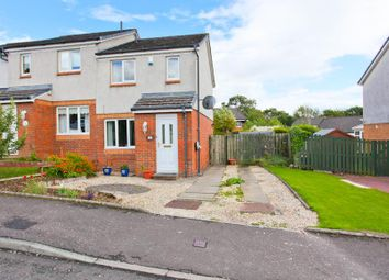 Thumbnail 2 bed semi-detached house for sale in Scaraben Crescent, Leslie, Glenrothes