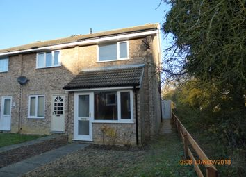 Thumbnail 2 bed end terrace house to rent in Mountbatten Road, Bungay