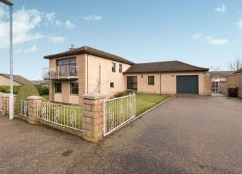Thumbnail 4 bed detached house for sale in Birnie Crescent, Elgin