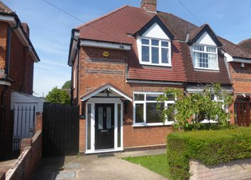Thumbnail 3 bedroom semi-detached house to rent in Bowstoke Road, Great Barr, Birmingham