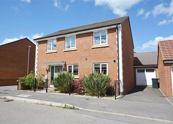 Thumbnail 4 bedroom detached house for sale in Fauld Drive Kingsway, Quedgeley, Gloucester