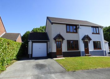 Thumbnail 2 bed semi-detached house to rent in Fair Oakes, Glenover Fields, Haverfordwest
