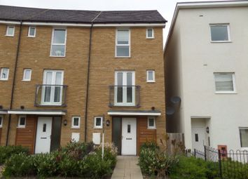 Thumbnail 4 bed town house to rent in Top Fair Furlong, Giffard Park, Milton Keynes