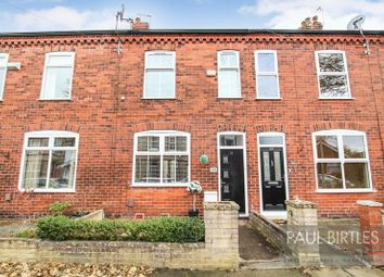Thumbnail 2 bed terraced house for sale in Knowsley Avenue, Davyhulme, Manchester
