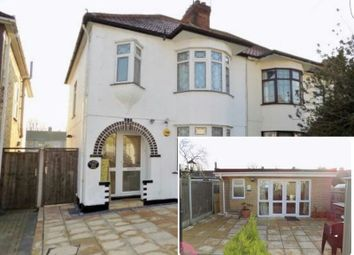 Thumbnail 4 bed semi-detached house for sale in Norwood Avenue, Romford, Essex