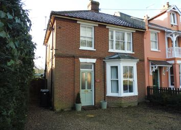 Thumbnail 3 bed end terrace house for sale in Victoria Road, Diss