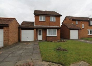 Thumbnail 3 bed detached house to rent in Downe Close, Blyth