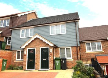 Thumbnail 2 bed terraced house to rent in Bannister Close, Hastings