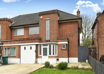 Thumbnail 3 bed semi-detached house for sale in Devonshire Road, London NW7,