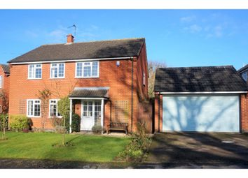 Thumbnail 4 bed detached house for sale in Wakes Close, Dunton Bassett