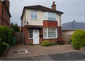 Thumbnail 3 bed detached house for sale in Breedon Avenue, Tunbridge Wells
