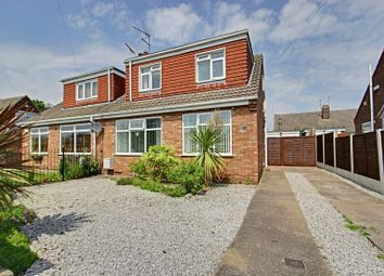 Thumbnail 4 bed semi-detached bungalow for sale in Westerdale Close, Keyingham, Hull