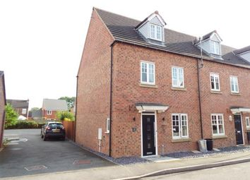 Thumbnail 4 bed semi-detached house for sale in Attenborough Close, Wigston, Leicestershire