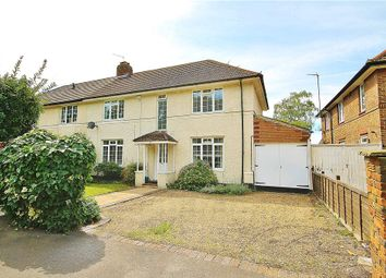 Thumbnail 3 bed semi-detached house for sale in Castle Way, Hanworth Park, Middlesex