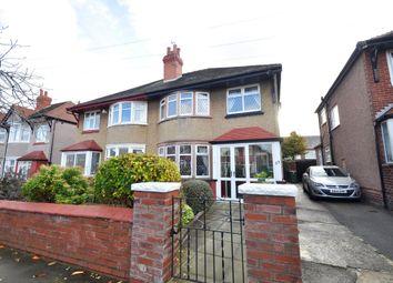 Thumbnail 3 bedroom semi-detached house for sale in Knaresborough Road, Wallasey