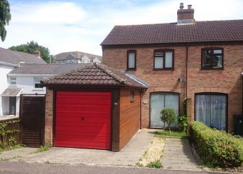 Thumbnail 2 bed semi-detached house for sale in West Close, Axminster