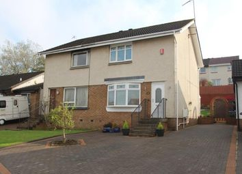 Thumbnail 2 bed semi-detached house for sale in Dunalastair Drive, Stepps, Glasgow