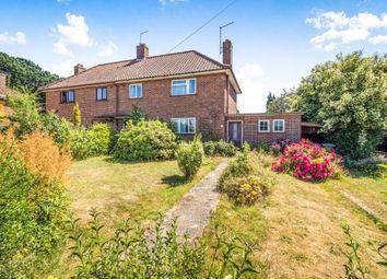 Thumbnail 3 bedroom semi-detached house for sale in Wroxham, Norwich, Norfolk