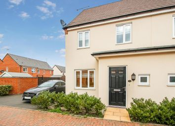 Thumbnail 3 bed semi-detached house to rent in St Thomas Way, Rugeley, Staffordshire