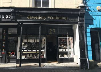 Thumbnail Retail premises for sale in Jewellery Workshop, 27, Church Street, Falmouth