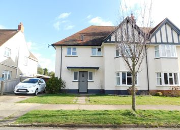 Thumbnail 3 bed semi-detached house for sale in Park Avenue, Old Felixstowe