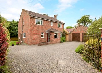 Thumbnail 4 bed detached house for sale in Downsmead, Baydon, Marlborough, Wiltshire