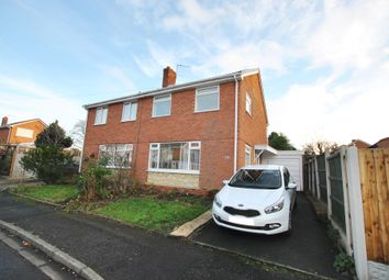 Thumbnail 3 bed semi-detached house for sale in Linden Grove, Wellington, Telford, Shropshire