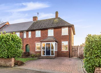 Thumbnail 3 bed end terrace house for sale in St. Michael Road, Lichfield
