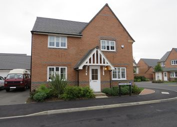 Thumbnail 4 bed detached house for sale in Cover Drive, Bottesford, Grantham