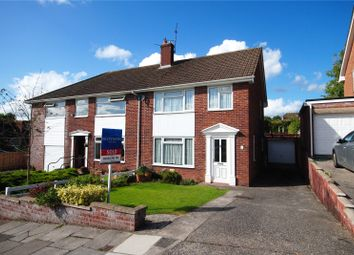 Thumbnail 3 bed semi-detached house for sale in Clearwater Way, Lakeside, Cardiff