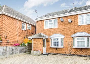 Thumbnail 2 bedroom semi-detached house for sale in West Street, Earl Shilton, Leicester