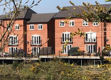Thumbnail 4 bed town house for sale in Waters Edge, Warrington
