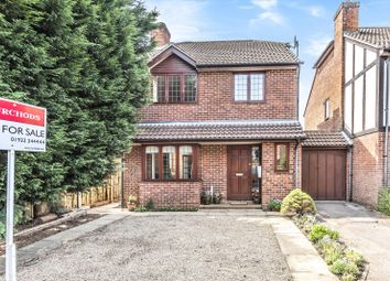 Thumbnail 4 bed detached house for sale in Westermain, New Haw, Addlestone