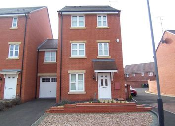 Thumbnail 5 bed detached house to rent in Brodie Close, Rugby