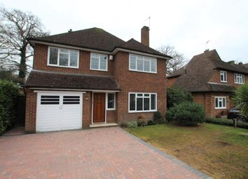 Thumbnail 4 bed detached house to rent in Norfolk Farm Close, Pyrford, Woking