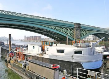 Thumbnail 1 bed houseboat to rent in Vewi, Albion Quay, Battersea