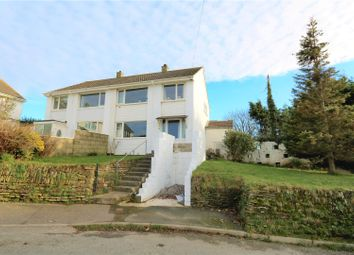 Thumbnail 3 bed semi-detached house for sale in Quintrell Road, Newquay