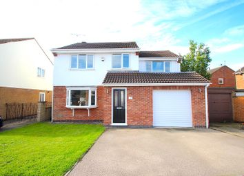 4 bed detached house for sale in Newby Close, Whetstone, Leicester LE8
