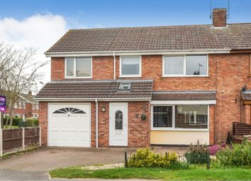 Thumbnail 4 bed semi-detached house for sale in Dore Avenue, Lincoln